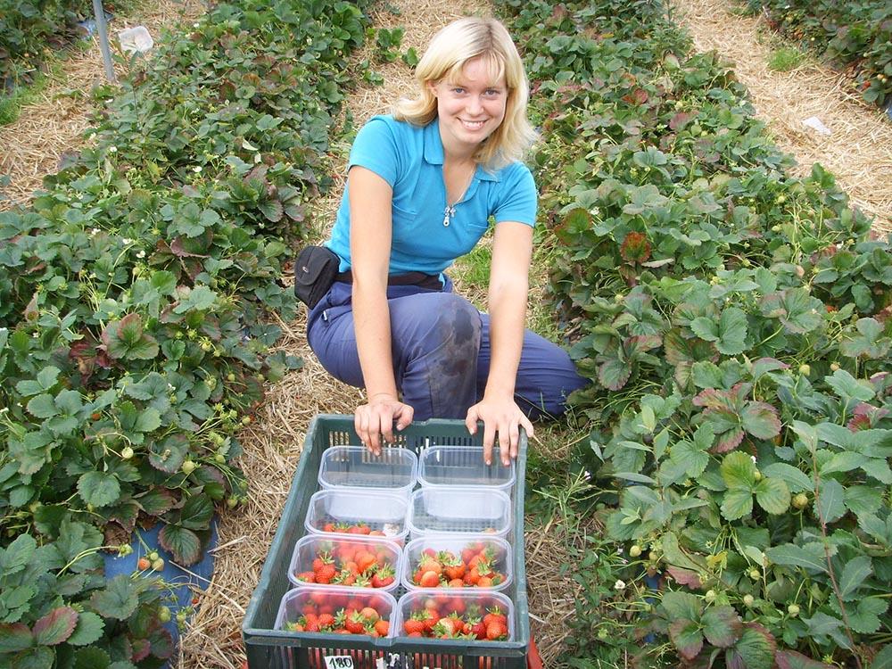 Девушка для работы на ферме работа для девушек руками